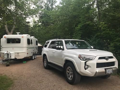 Bonnechere - first campsite