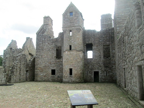 Tolquhon Castle Courtyard