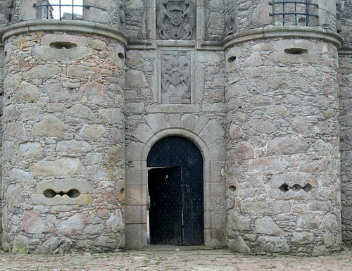 Tolquhon Castle Entrance