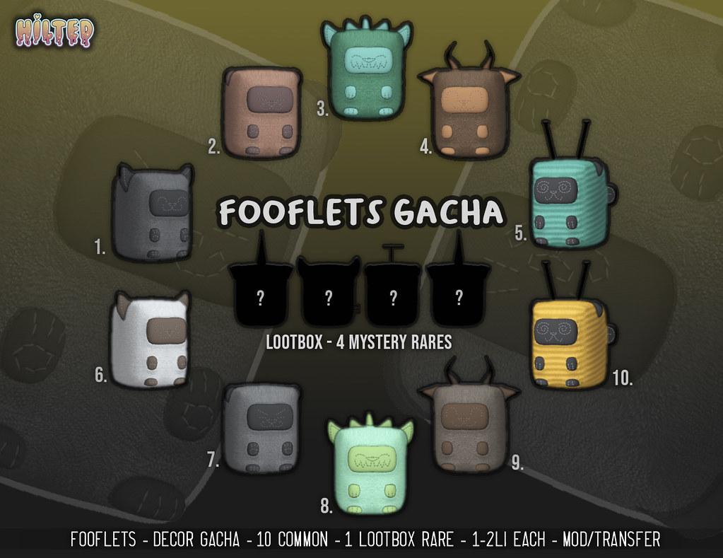 HILTED – Fooflets Gacha