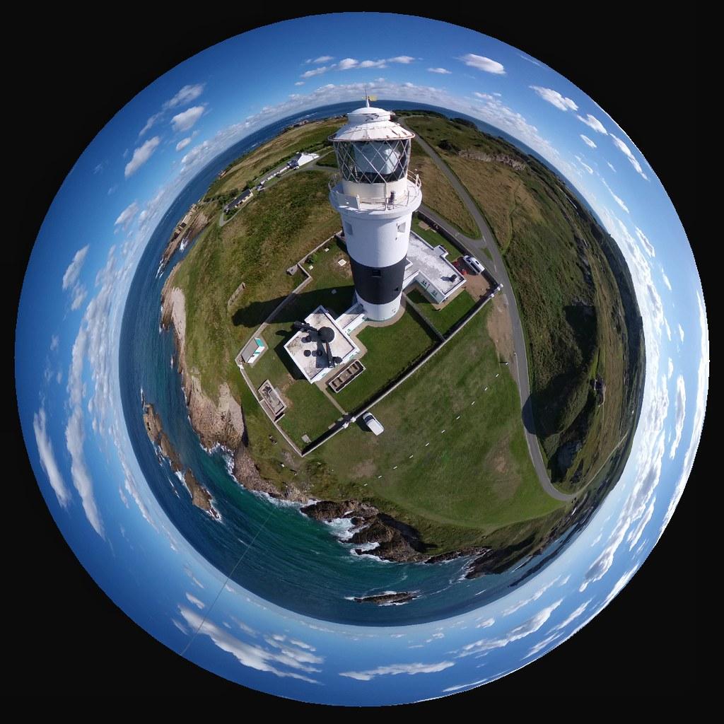 Alderney Lighthouse planet