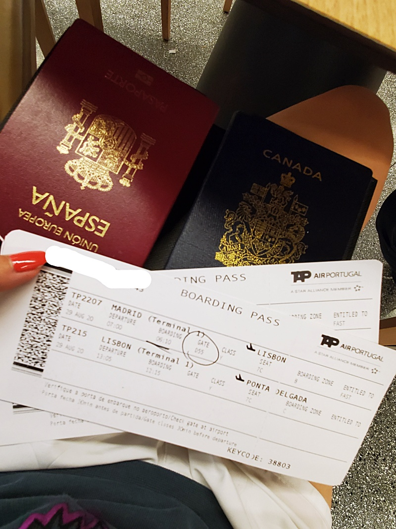 boarding passes Europe