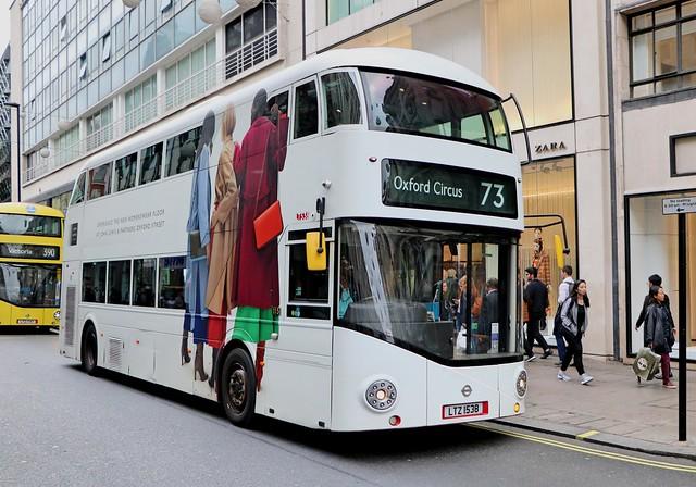 Arriva London - LT538 - LTZ1538 - John Lewis