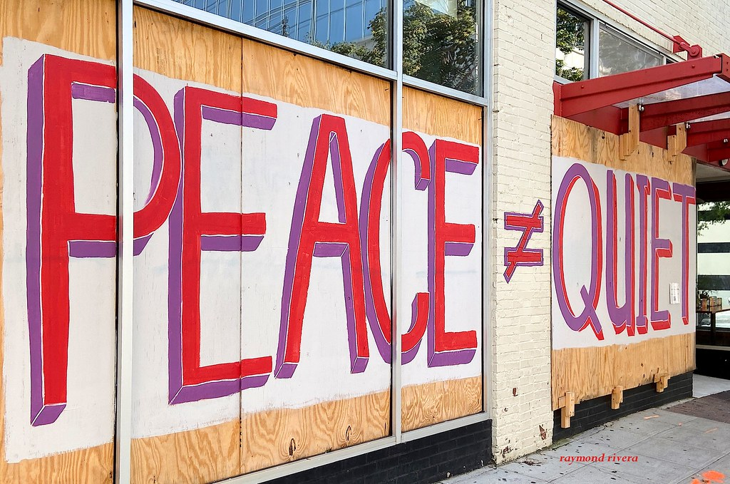 Raleigh, NC 3 months after riots.