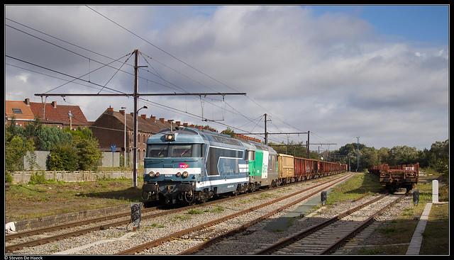 SNCF 467629 + 467579 @ Clabecq