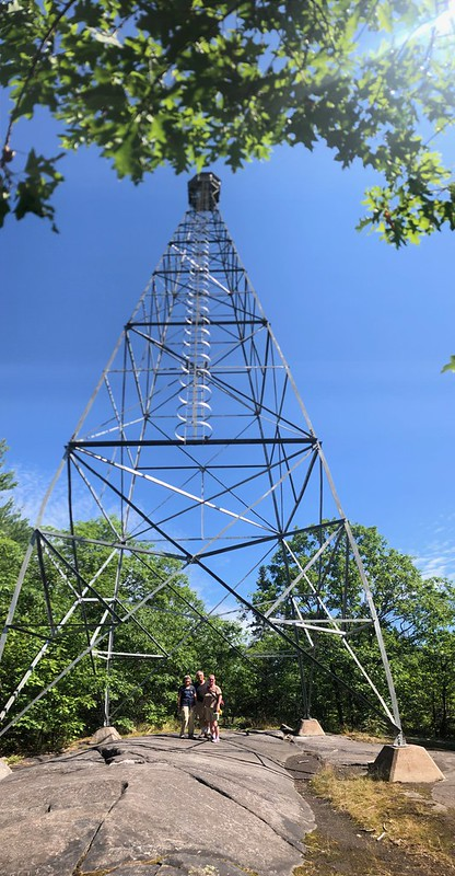 Restoule - the fire tower
