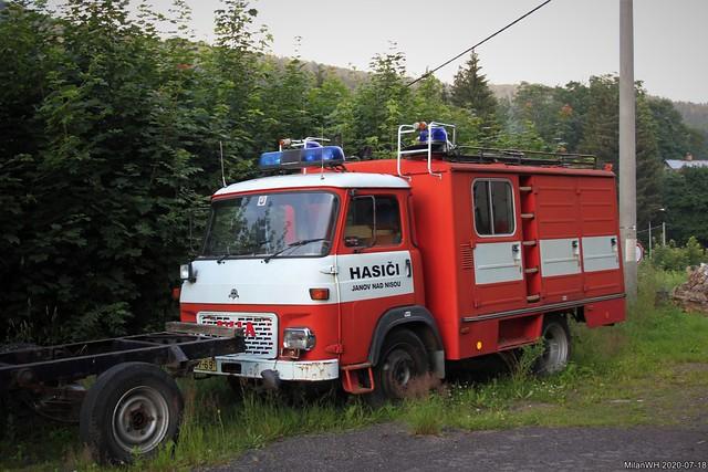 Avia A31 hasiči Janov nad Nisou