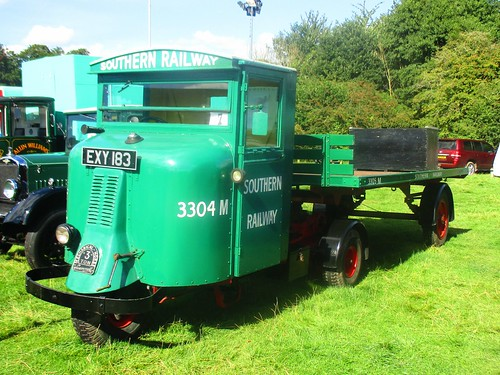 401 Scammell 3 ton Mechanical Horse (1938) EXY 183