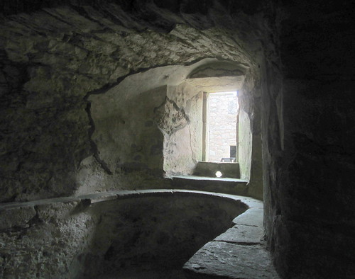 Tolquhon Castle Window and Window Seat