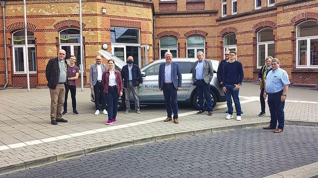 Frank Schäffler MdB auf Wasserstoffauto-Tour durch NRW