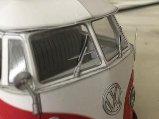 Schreiber VW Bus Kartonmodell