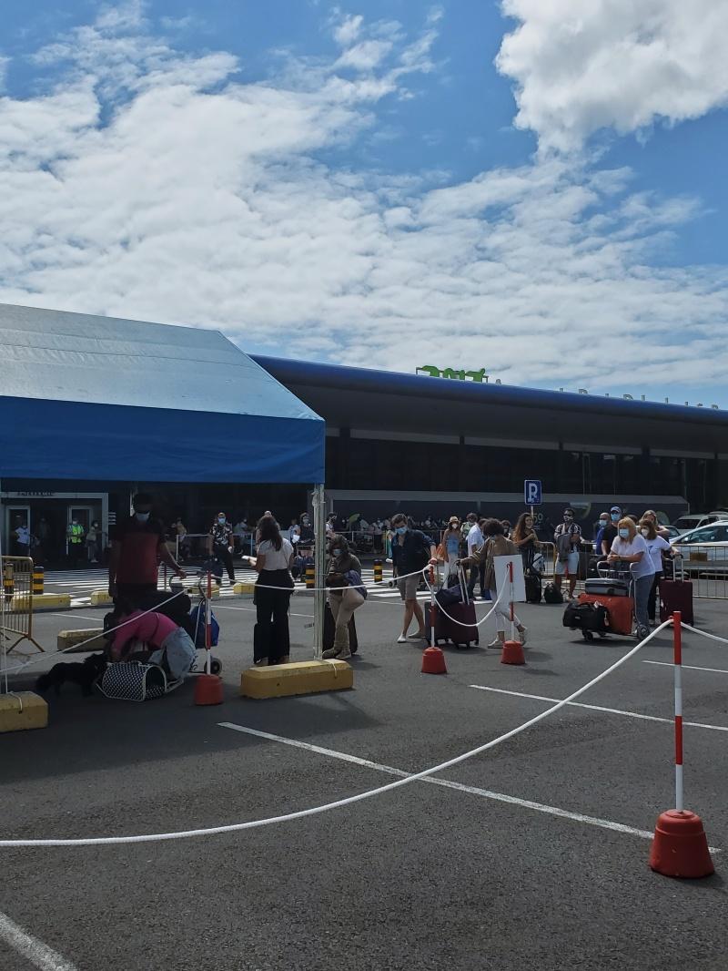 COVID Test Ponta Delgada airport