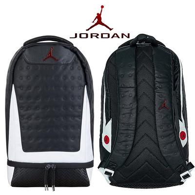 Air Jordan Retro 13 Nike Backpack Black