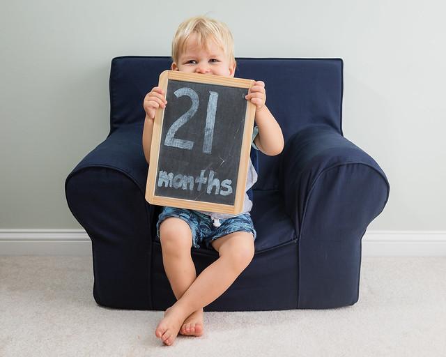 Gabe 21 Months