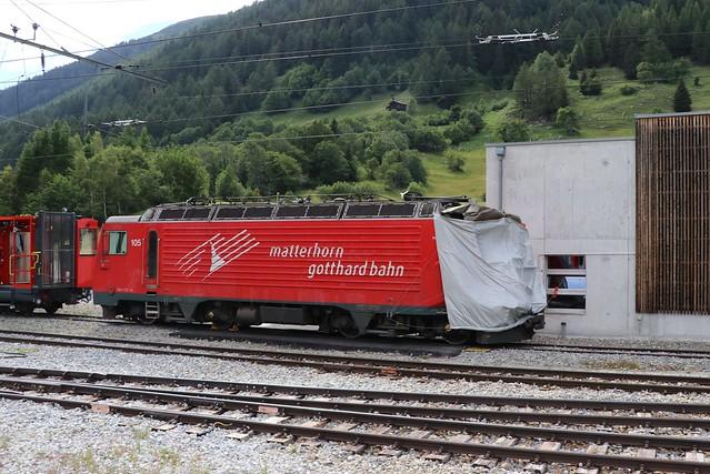 "2020-07-08, MGB, Oberwald, HGe 4/4"" 105"