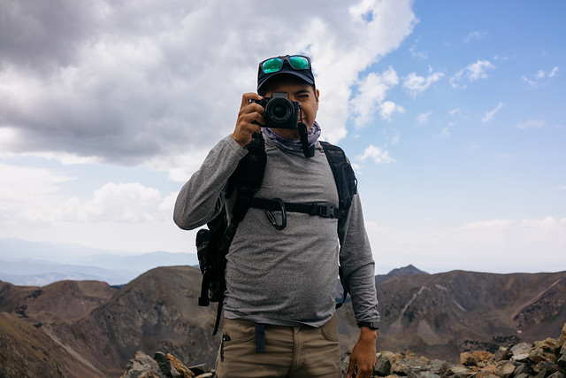 Addiel owns a camera.