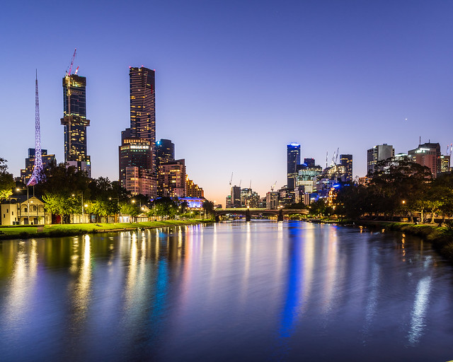 Melbourne   |   Yarra River Blues