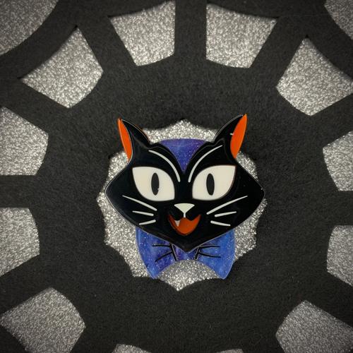 Erstwilder x Kitschy Witch Designs Cat Charming Brooch