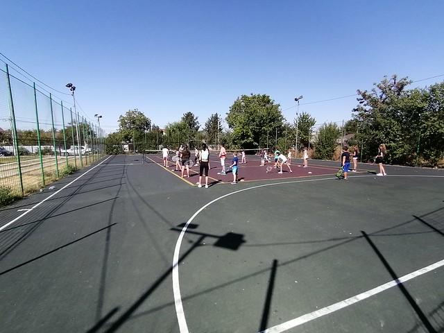 Lectii gratuite tenis de camp