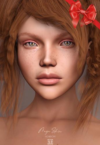 Free update Teen - Full HD Head! Free gift HD Skin Maya ❤️