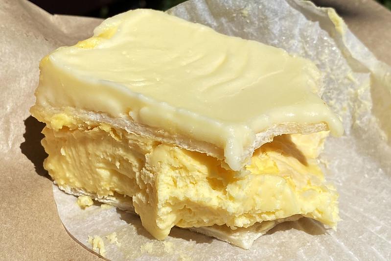 Vanilla slice: Golden Bakehouse, South Turramurra