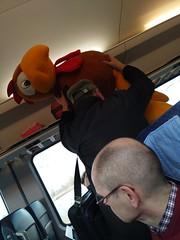 In the train, February 2020