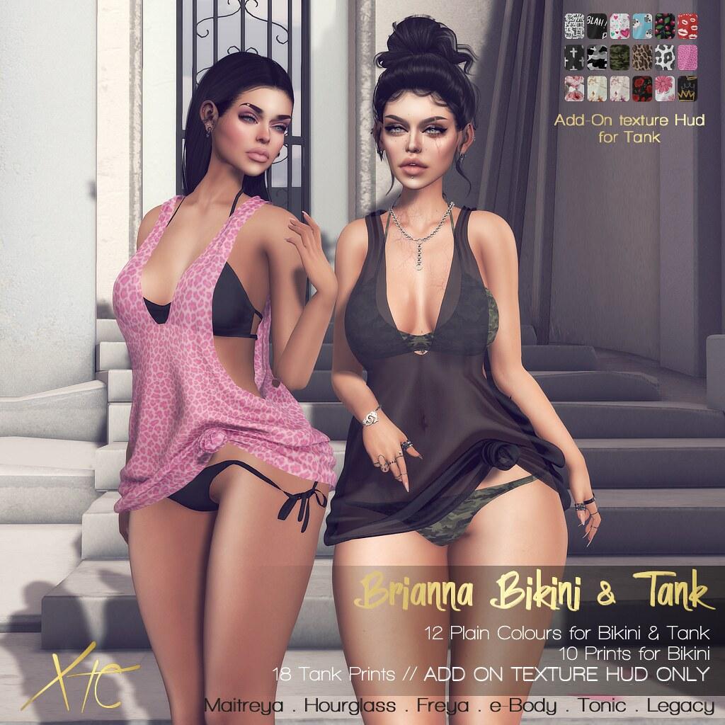 Brianna Bikini & Tank @ Miix