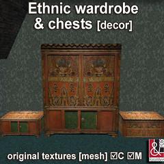 Ethnic wardrobe & chests PIC