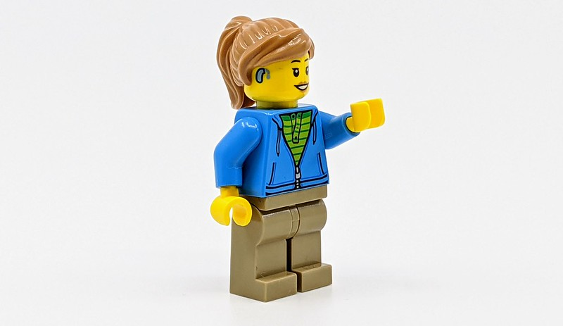 LEGO Minifigure With Hearing Aid
