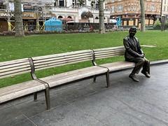 Mr Bean all alone