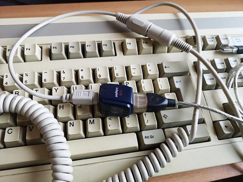 Ancient keyboard