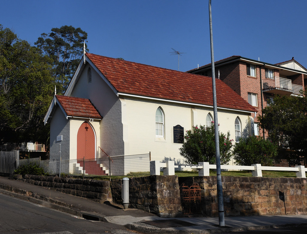 Ebenezer Strict Baptist Chapel, Ryde, Sydney, NSW.