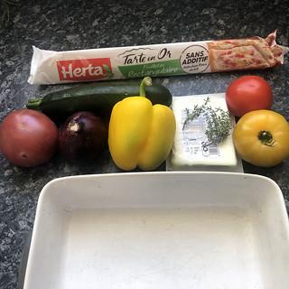 Tarte renversée aux légumes d'été5
