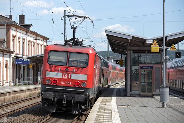 DB Regio 114 008 Wächtersbach
