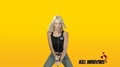 Wallpaper-Collage with Uma Thurman from Kill Bill