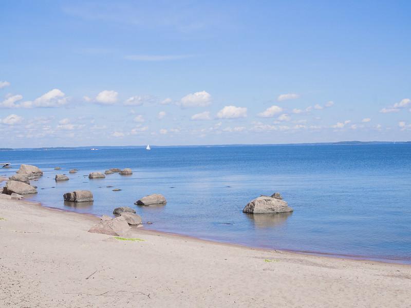 Kaunissaari hiekkaranta