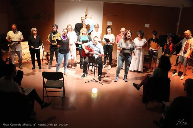 'Do de Dona', lectura a càrrec del grup 'Carrer de la Poesia, 14' d'Alpens