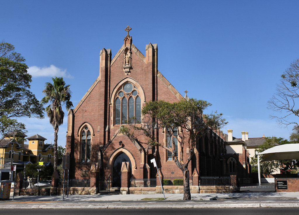 St Brendan's Catholic Church, Annandale, Sydney, NSW.