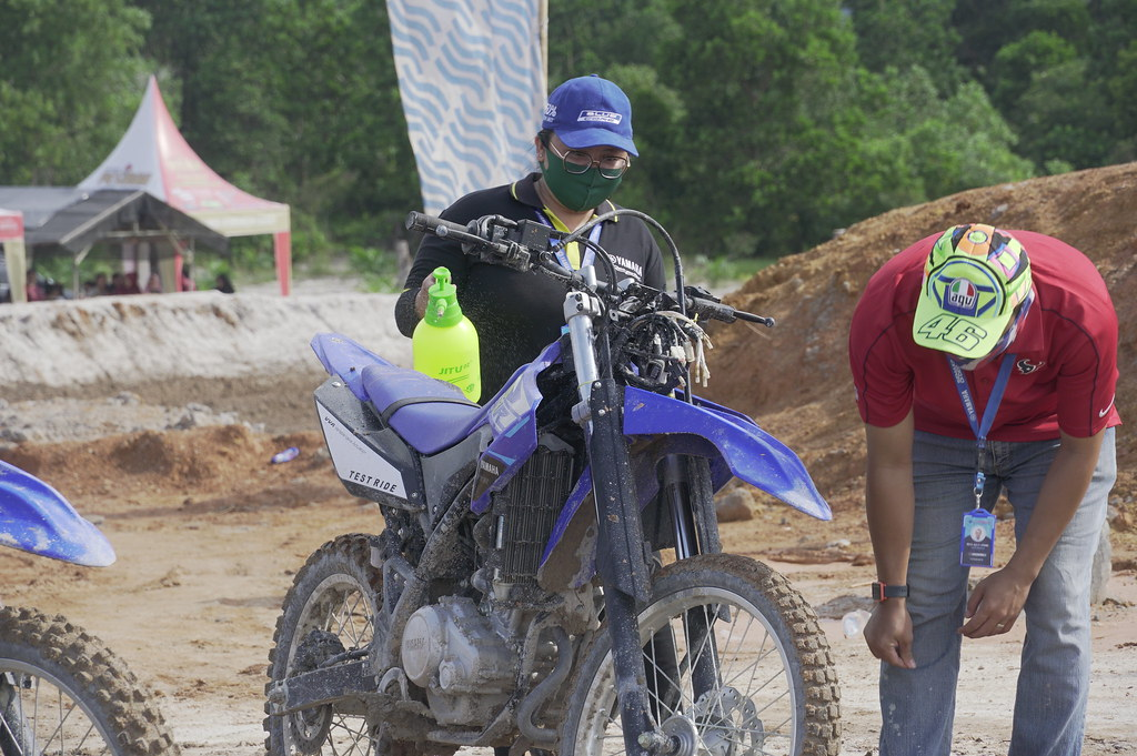 Yamaha WR 155R Adventure Day Bangka Belitung
