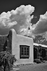 Clouds Over the Adobe