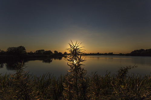 canon6d landscape nature outdoors outside sunset silhouette lake water reflections uk cambridgeshire