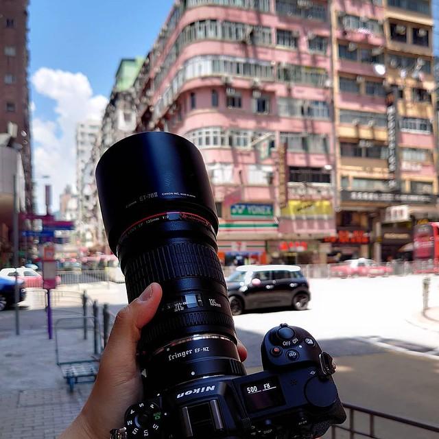 Nikon z6 轉接Canon 鏡威力