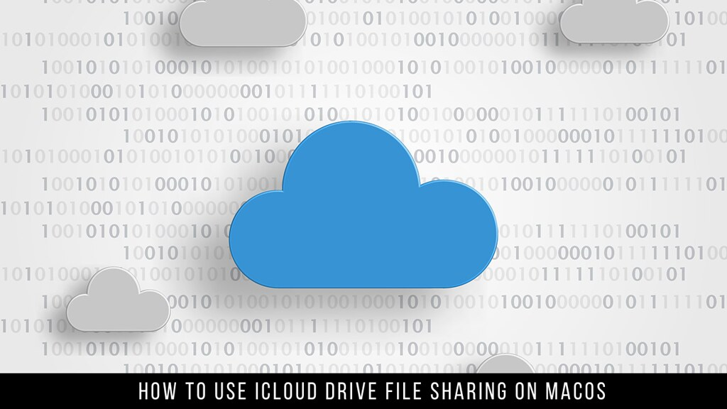 How to Use iCloud Drive File Sharing on macOS