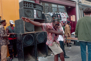Notting Hill Carnival, London, 1985 Peter Marshall 95-8-11-37-positive_2400