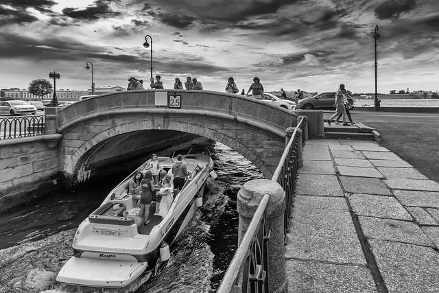 August, Winter Canal... — Август, Зимняя канавка...
