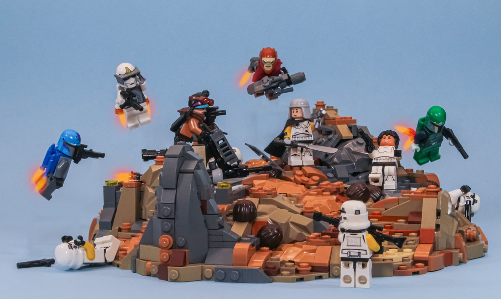 Showdown on the Rock - a build for Eurobricks Fact…