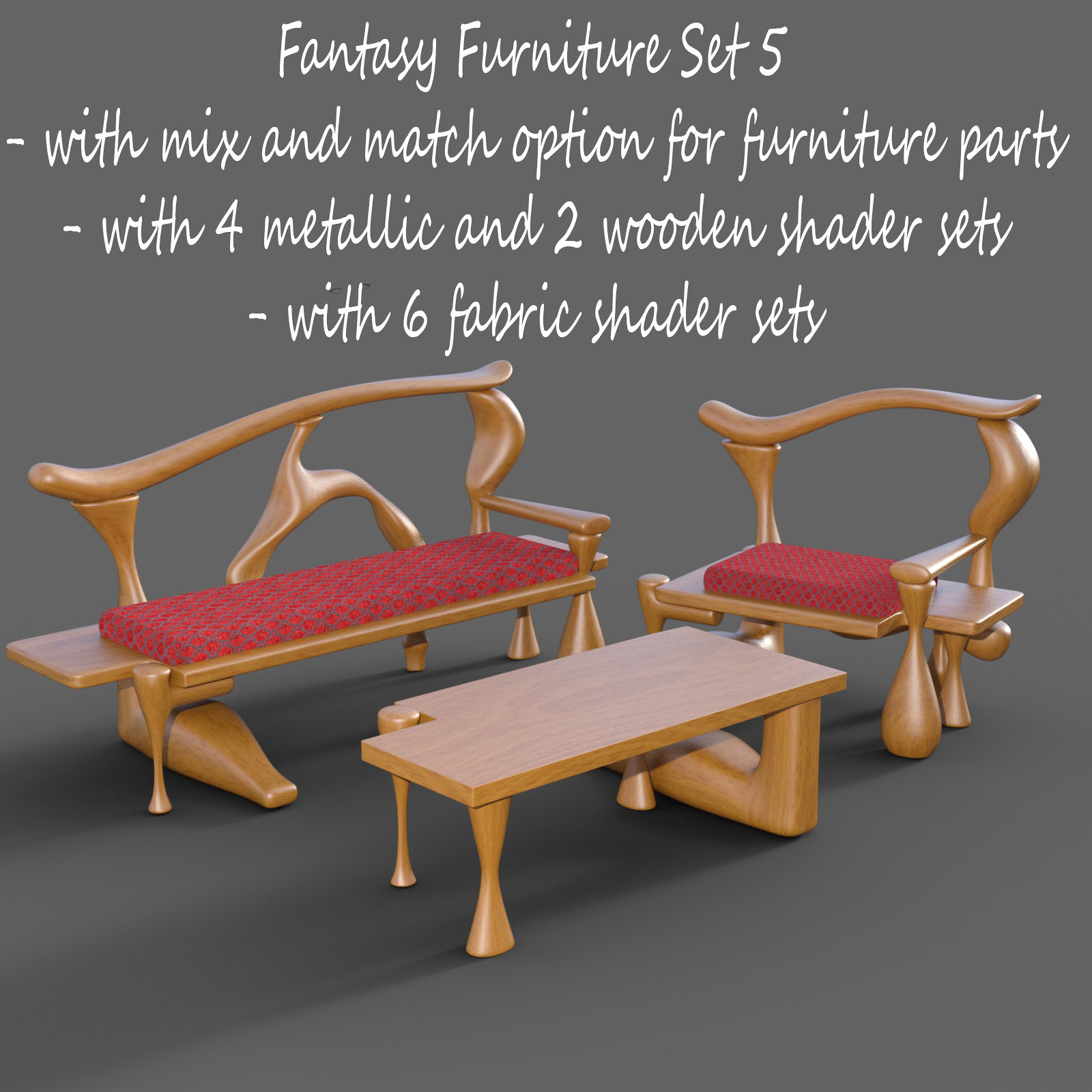 Fantasy Furniture Set 5