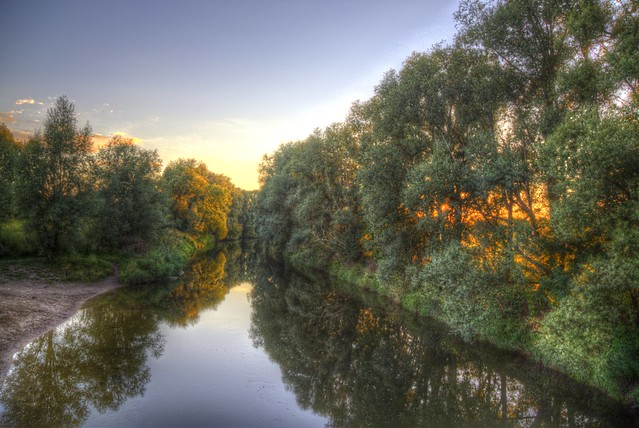 View from a bridge