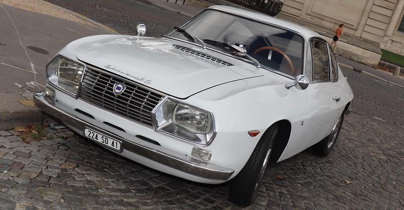 Lancia Fulvia Sport 1300 Zagato -  Paris Invalides Août 2020 50286924988_060c5036bb_c