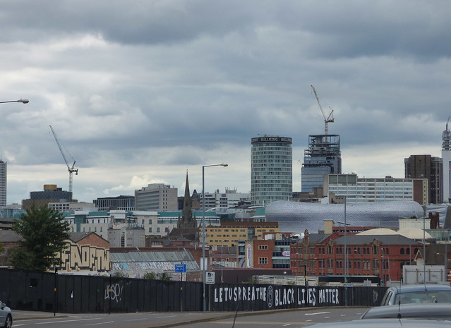 Digbeth skyline from 103 Colmore Row to the Custard Factory
